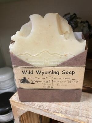 Wyoming Mountain Song soap/Wild Wyoming