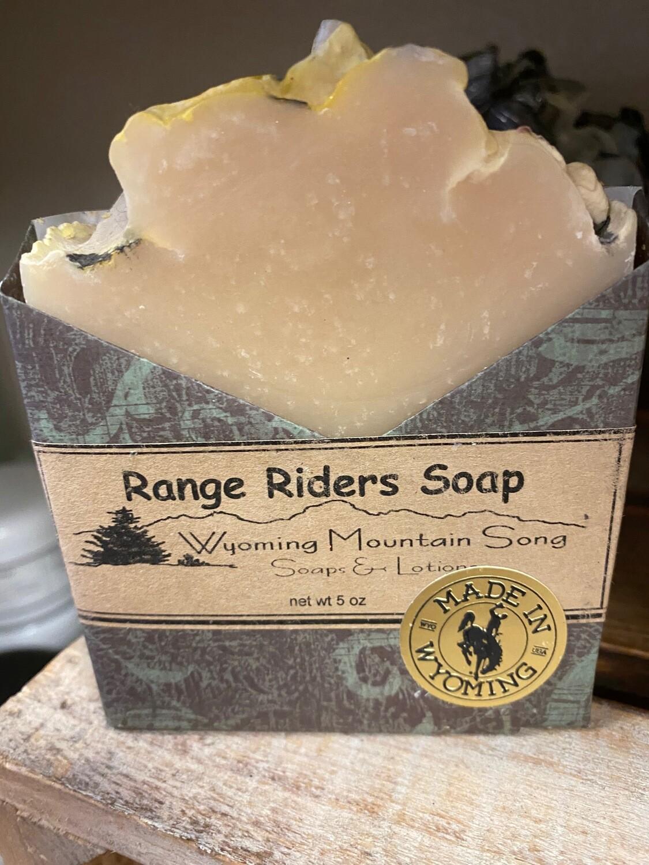 Wyoming Mountain Song Soap/range riders