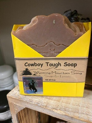 Wyoming Mountain Song soap/cowboy bought