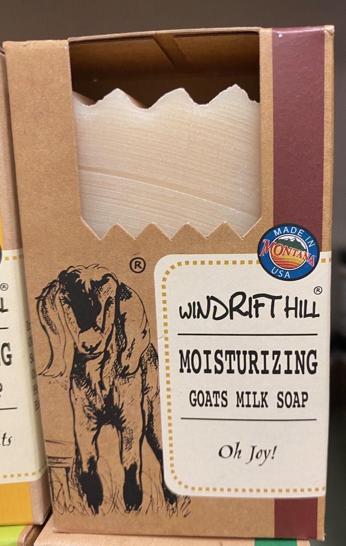 Windrift Hill/goats milk soap/oh joy