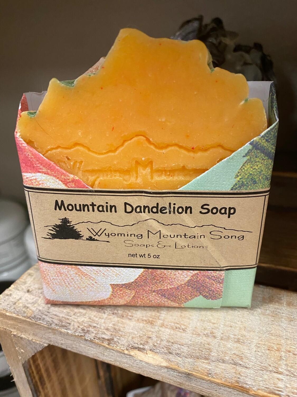 Wyoming Mountain Song soap/Mountain Dandelion