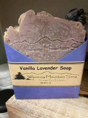 Wyoming Mountain Song soap/Vanilla Lavender