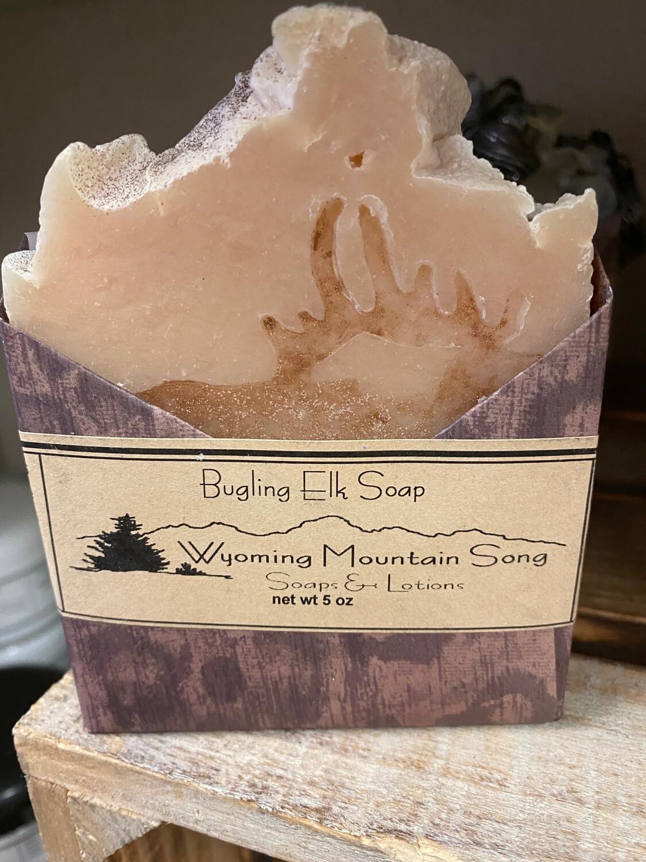 Wyoming Mountain Song soap/Bugling Elk