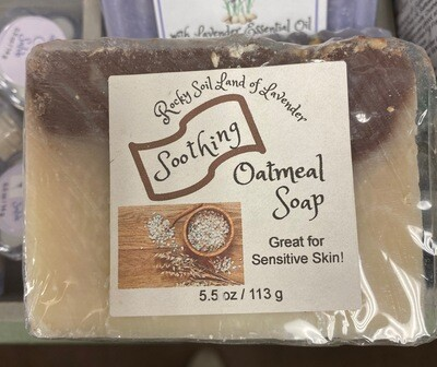 Land of Lavender/Oatmeal soap