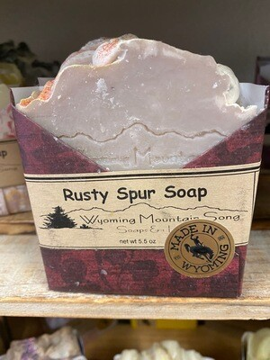 Wyoming Mountain Song soap/Rusty Spur