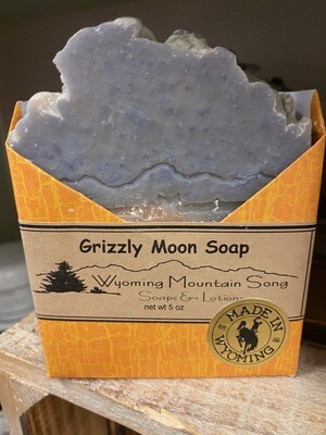 Wyoming Mountain Song soap/Grizzly Moon