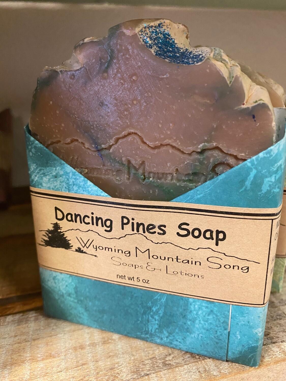 Wyoming Mountain Song soap/Dancing Pines