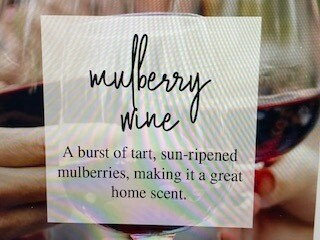 Candles Barn/4 oz./Mulberry wine