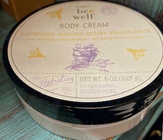 Simply Bee Well/Lavender infused honey body cream