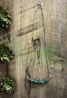 Jewelry/turquoise necklace