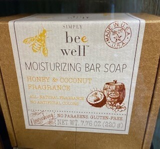 Simply Bee Well/Honey & Coconut soap