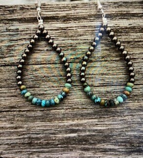 Jewelry/turquoise earring