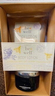 Simply Bee Well/Lavender infused honey body lotion