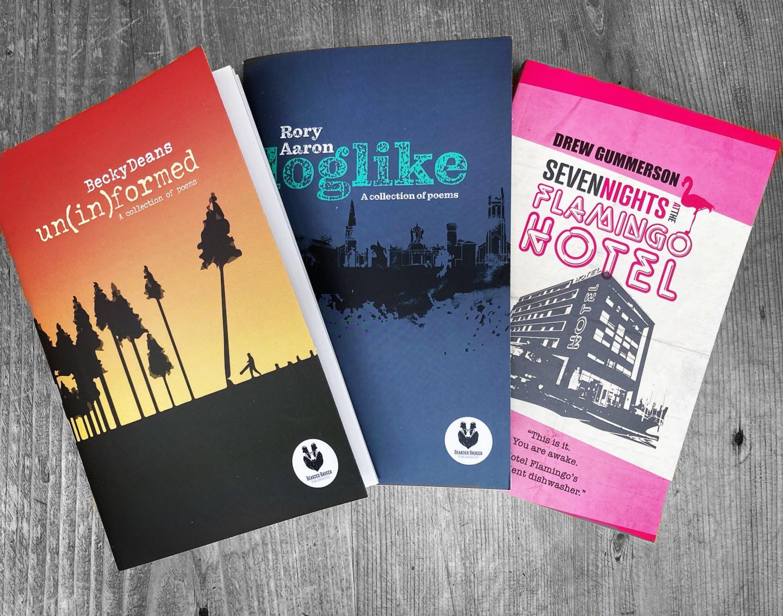 All Three Bearded Badger Books!!