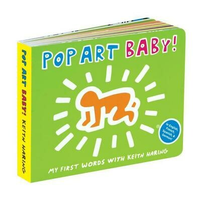 Pop Art Baby, Mudpuppy & Keith Haring