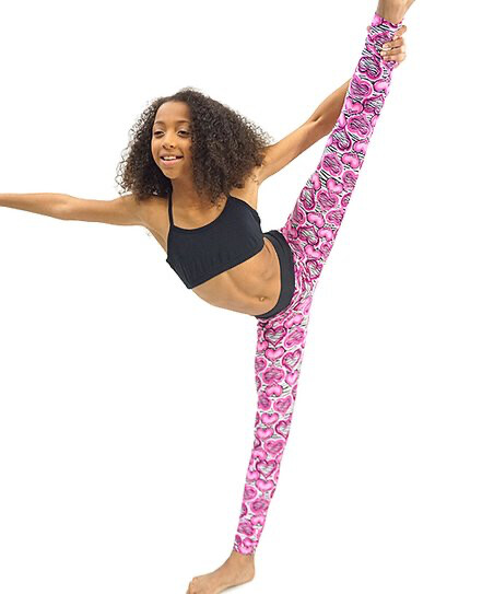 TT 9813 Zebra Heart Legging