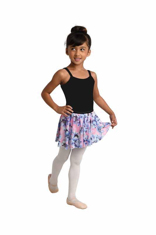DAN 2750 Printed Mesh Circle Skirt