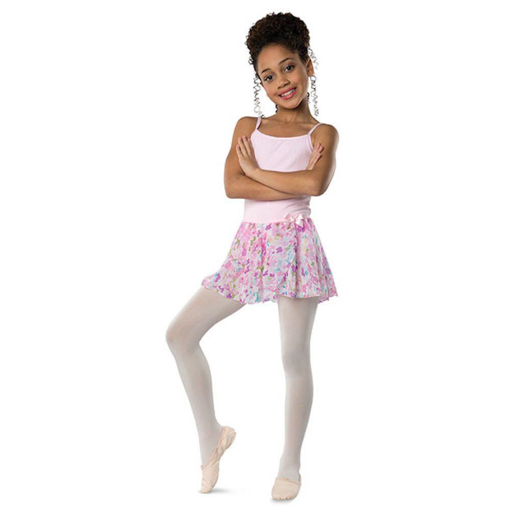 DAN 2605 Pastel Flower Skirt