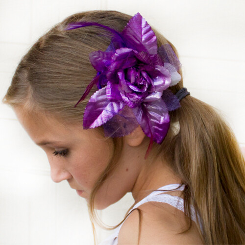 Dasha 2362 Metallic Flower Bow