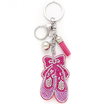 Dasha 2821 Bling Slipper Key ring