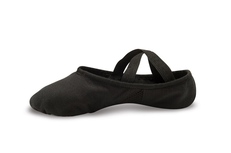 DAN 498/499 Canvas Ballet BLK