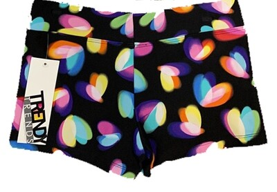 TT Butterfly Heart Shorts