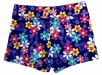 TT Flower Burst Shorts