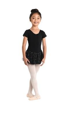 DAN 293 Shrt/Slv Dress Hologram Skirt