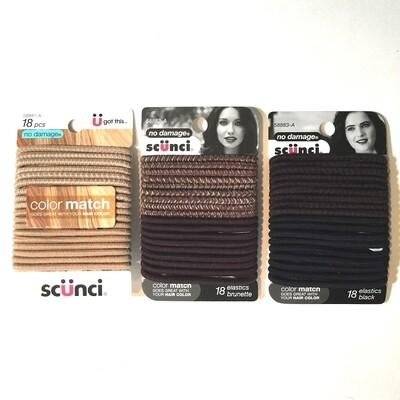 Scunci Color Match Hair Elastics