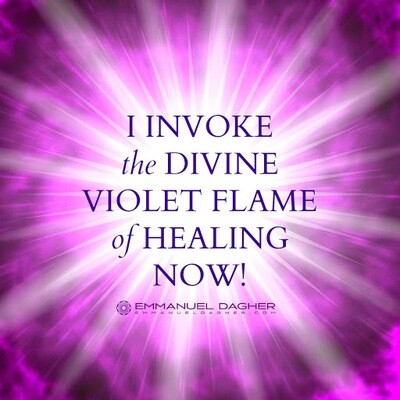 Violet Flame Clearing and Protection