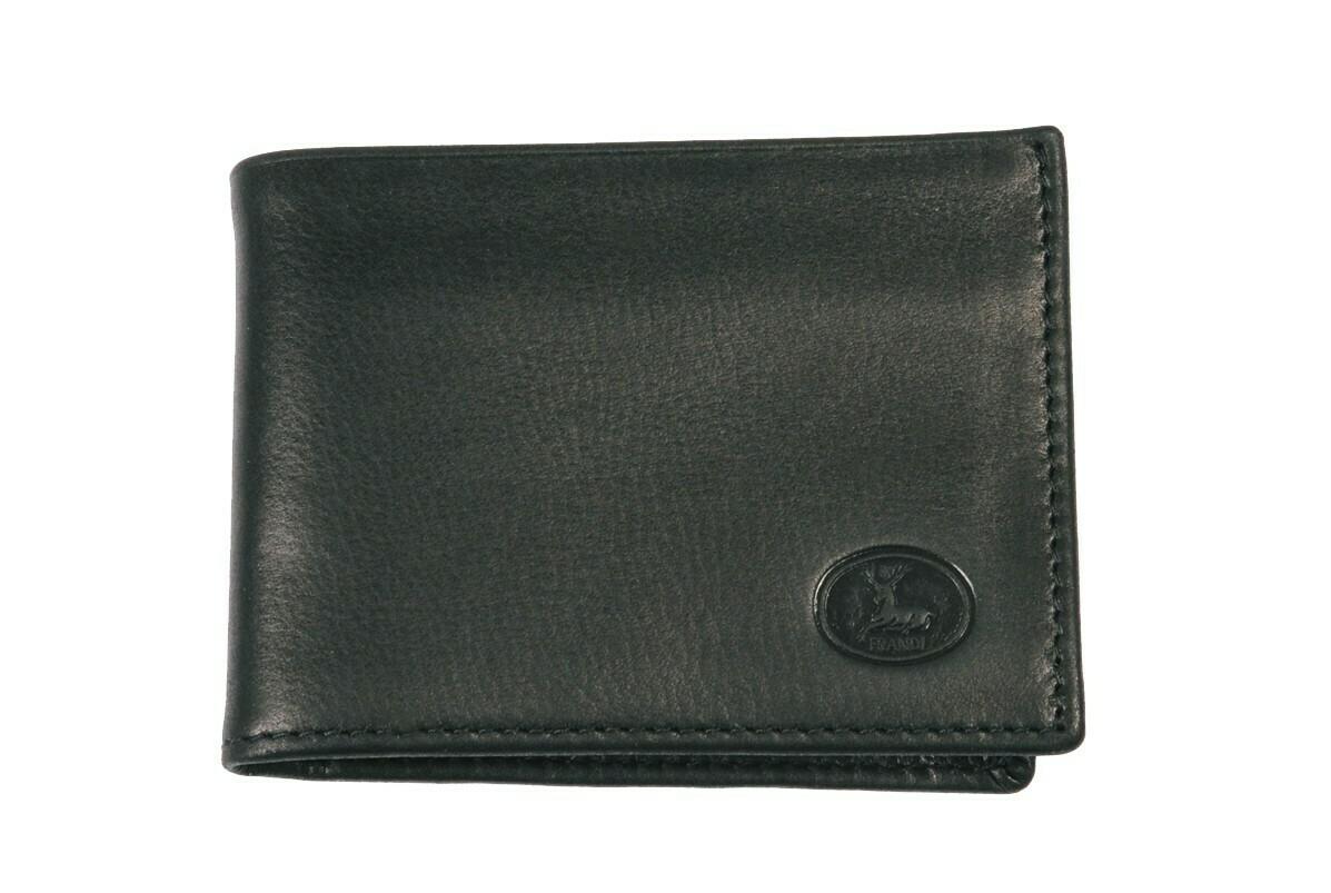 Portefeuille noir petit format