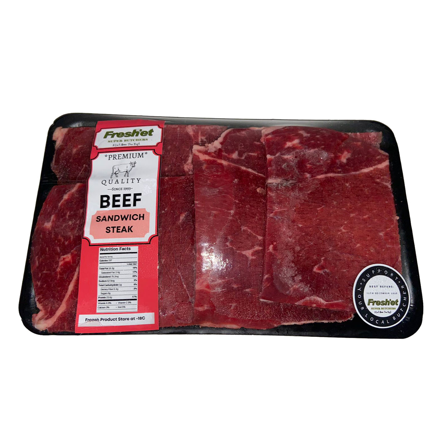 BEEF Sandwich Steak-1kg