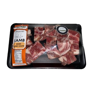 LAMB Diced Curry Chops - 1kg