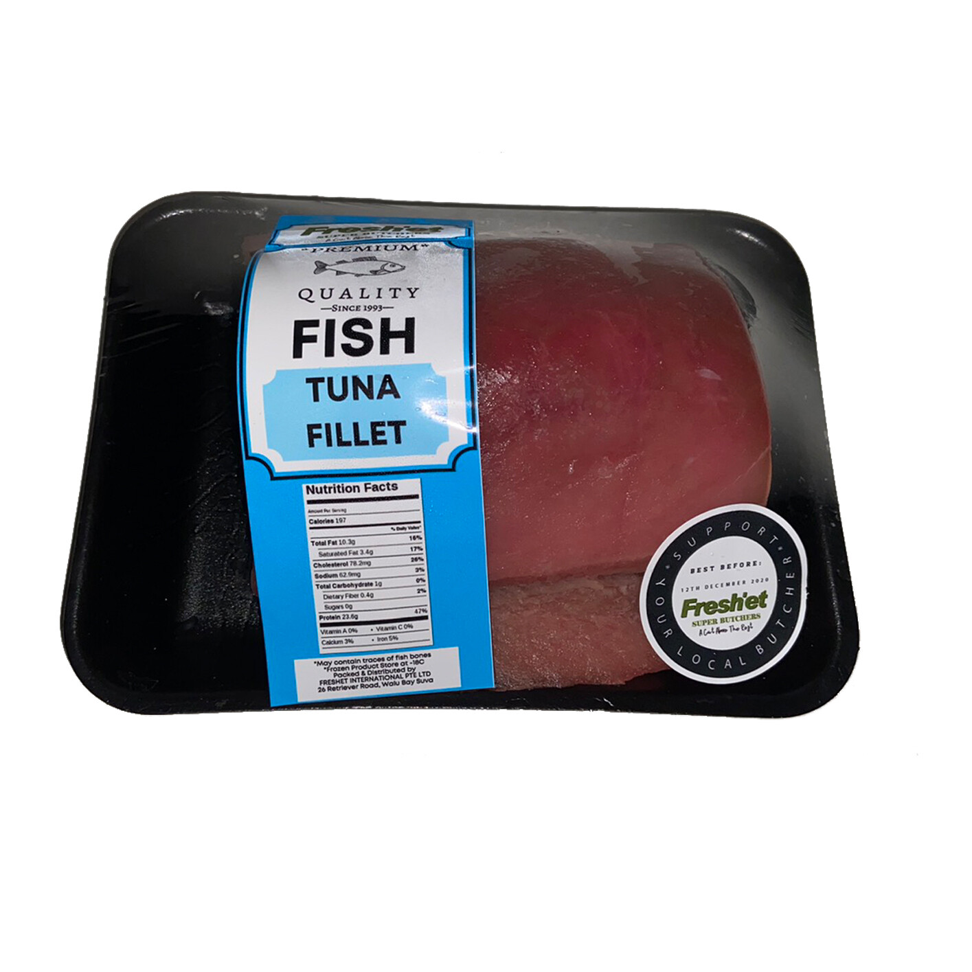 FISH Yellow Fin Tuna Fillet - 1kg