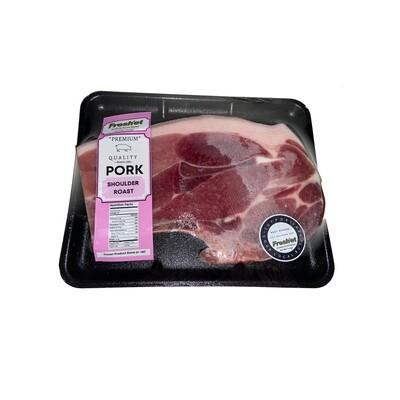 PORK Shoulder Roast - 1kg (BONE IN)