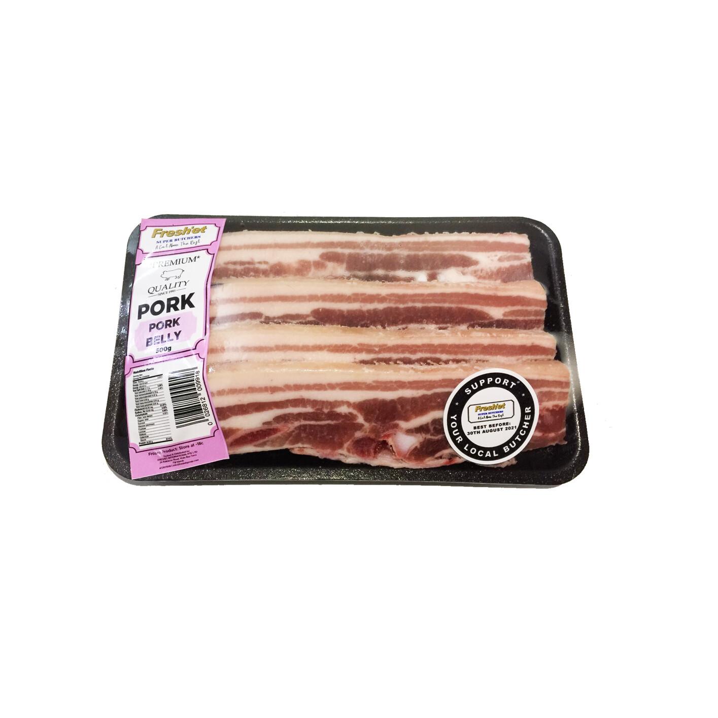 PORK Belly Slices - 1KG
