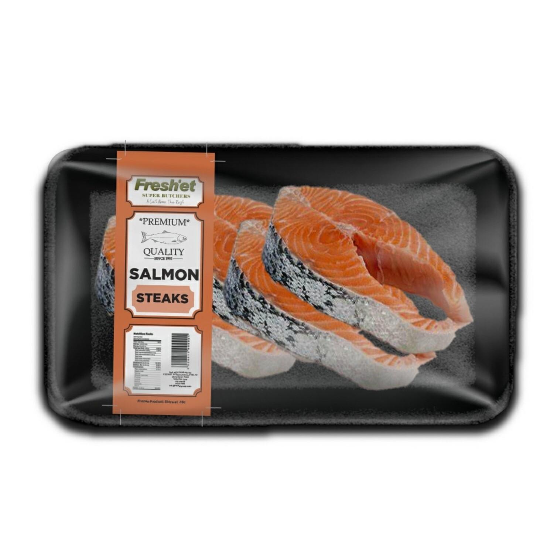Salmon Steak Cutlets - 1KG
