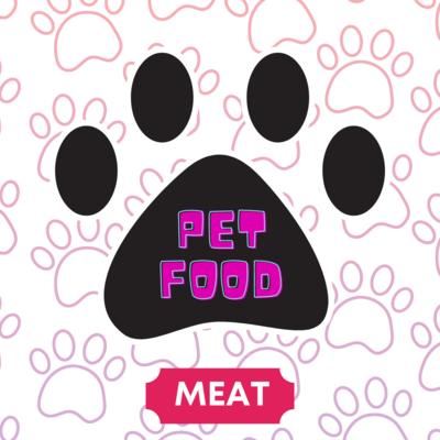 PET FOOD - (MEAT) 1KG