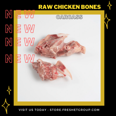 Raw Chicken Bones (Carcasses)