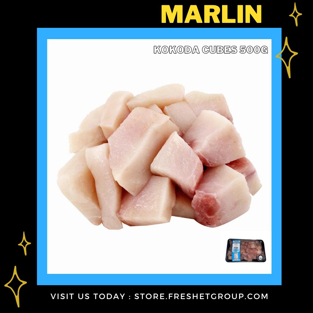 FISH Marlin Kokoda Cubes -500g