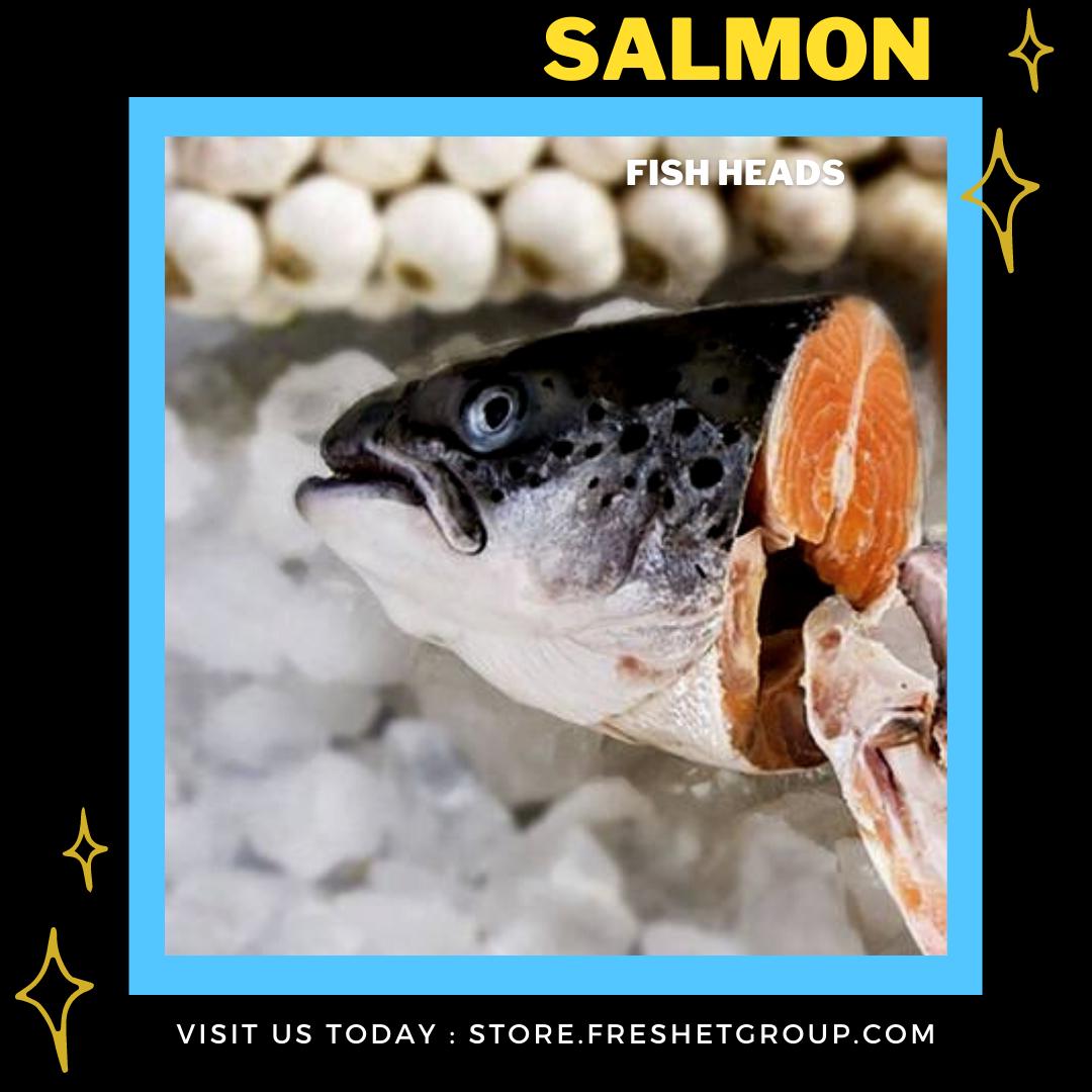 Salmon Fish heads (1KG)