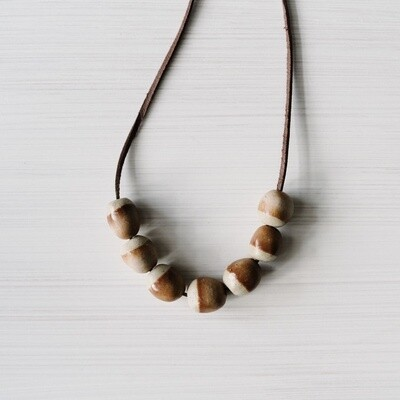 Red Ochre dipped Necklace
