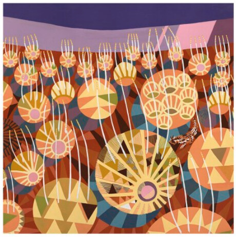 Spinifex at Sunset Print by Helen Ansell