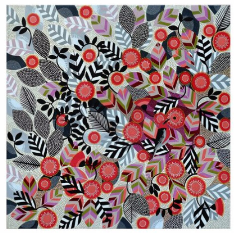 Coral Gum Print by Helen Ansell