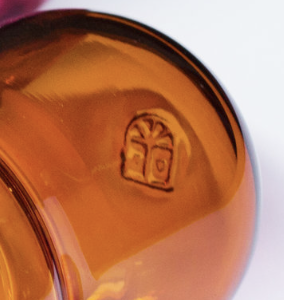 Baby Pill Vase - Glass