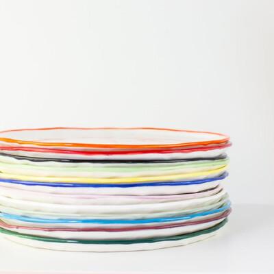 Dinner Plate - Paper Series