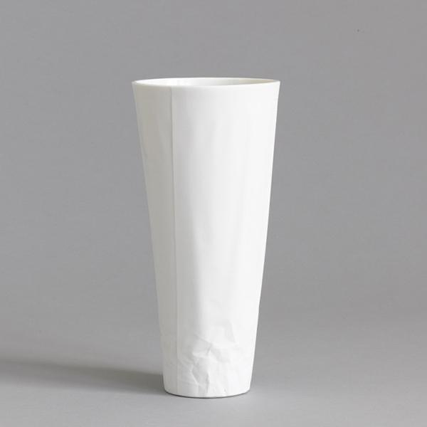 Vase - Paper Series - Black Rim