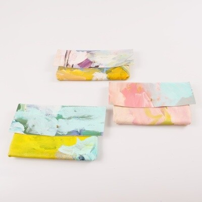 Painted Clutch - Small