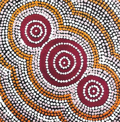 Warlukurlangu - Dwanye Jakamarra Abbott