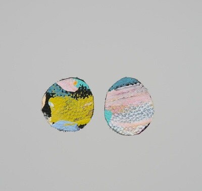 Lilly and Mr Fletcher - Endless Tales earrings (stud)